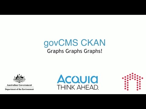 "Session: ""govCMS CKAN: Data visualisation in Drupal 7 for everyone!"""
