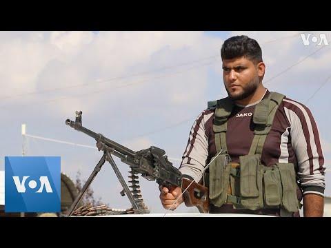 Turkish-Backed Free Syrian Army Training In Syria