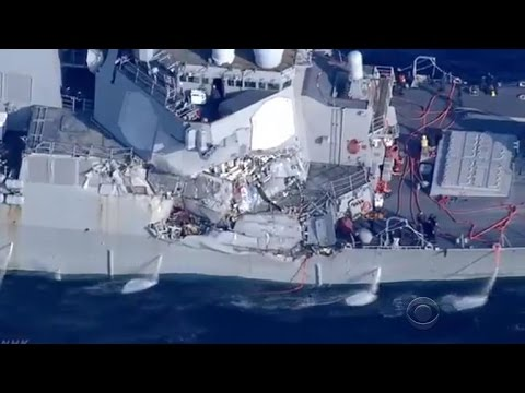 U.S. Navy ship collides with Japanese vessel; injuries reported