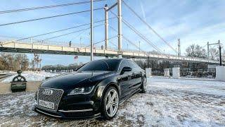 Audi A7 ТЕПЕРЬ СВЕРКАЕТ! Сделали ВНЕШНИЙ ДЕТЕЙЛИНГ ЛКП. Полировка + КЕРАМИКА! Вид ПУШКА.