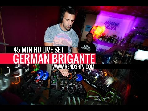 German Brigante Rend3r TV 45 min HD Live set Lombok Club