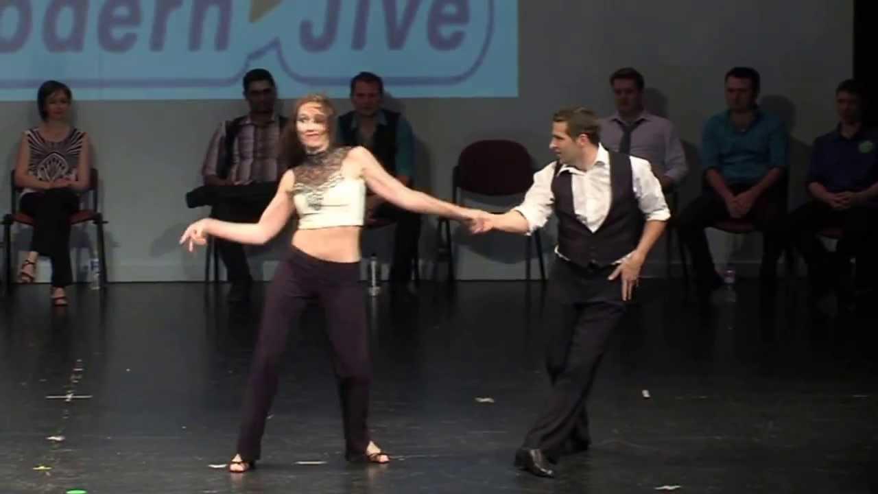 LeStep Brisbane 2012 Modern Jive Championship Finalists