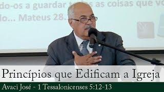 Princípios que Edificam a Igreja do Senhor - Avaci José
