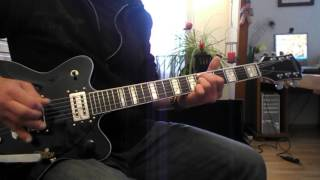 "killing joke : ""the gathering"" guitar cover."