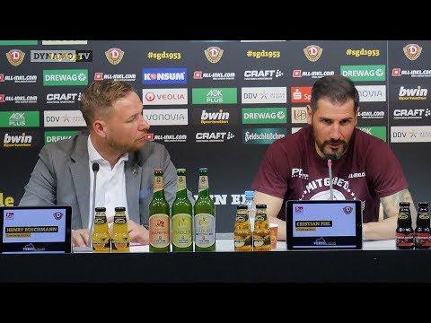 30. Spieltag | SGD - KOE | Pressekonferenz vor dem Spiel