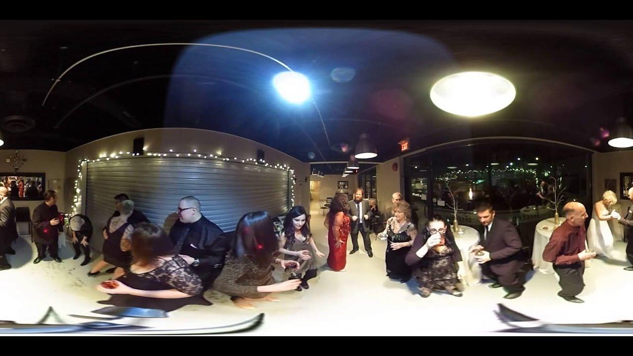 Vr 360 Wedding Ceremony: Jennifer + Ryan 360 Degree VR Wedding