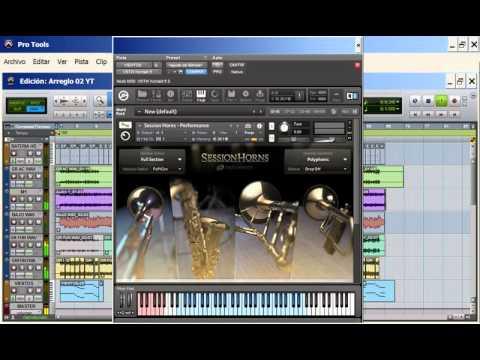 Native Instruments Session Horns © | Curso Profesional de Produccion Musical