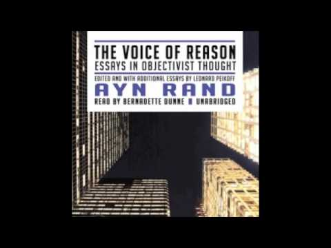 The Voice of Reason - Ayn Rand