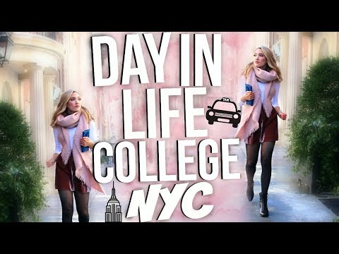A DAY IN MY LIFE AS AN NYC COLLEGE STUDENT!