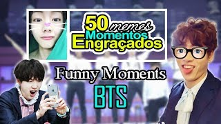 50 memes and Funny moments of BTS