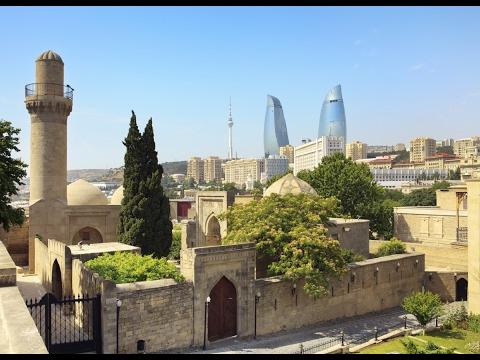 السياحة المذهلة | تغطية الأخ صالح لعاصمة أدربيجان باكو | 2017 Baku the capital of azerbaijan