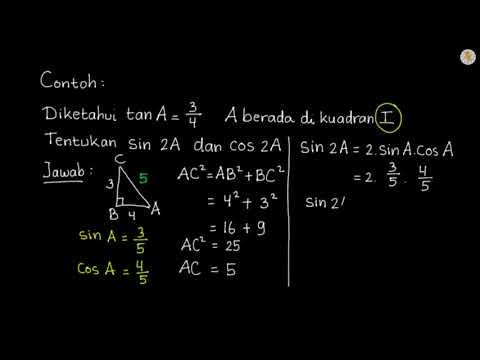 Contoh Soal Trigonometri Sudut Rangkap