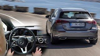 Mercedes A Class 2018: semi-autonomous driving real-life test :: [1001cars]