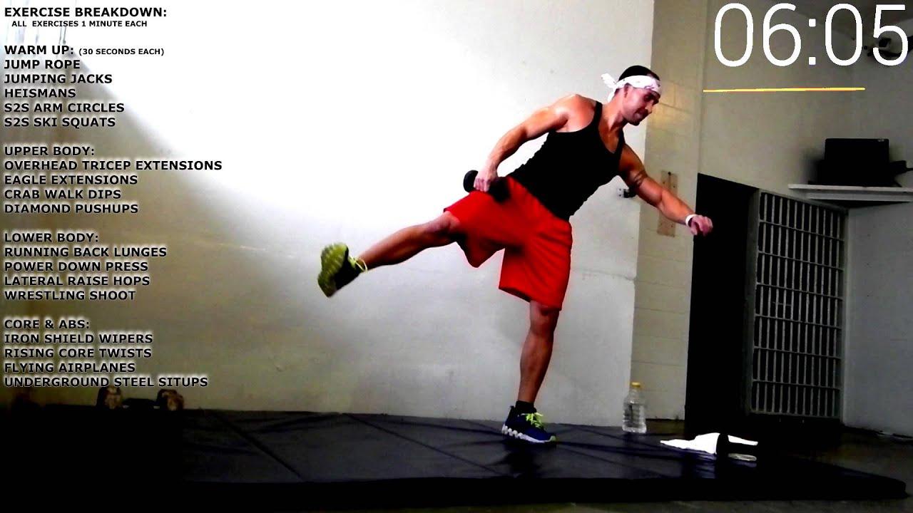 Flex Fit Boot Camp Class Quick Workout 5 (upper body, lower