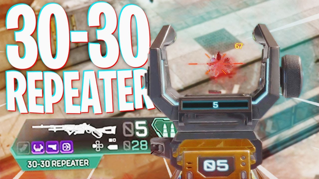 There's a Reason I Don't Use the 30-30 Repeater... - Apex Legends Season 9
