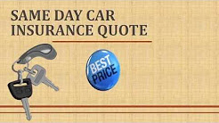 Tips To Get Same Day Car Insurance Quotes For Learner Drivers