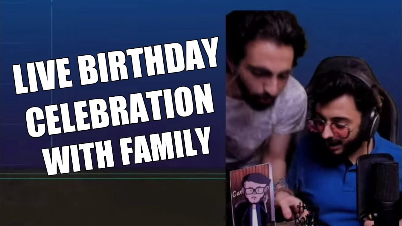 CarryMinati Live Birthday Celebration With Willy Frenzy And Manager