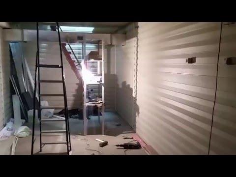 Каркасный гараж своими руками поэтапное строительство