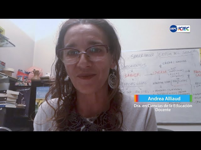 #EducarEnRed #7 ➡ Los espacios de práctica en el nivel superior | Andrea Alliaud