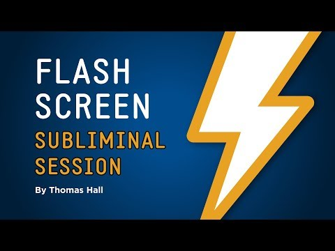 Forget Insults, Criticism & Judgement - Flash Screen Subliminal Session - By Thomas Hall