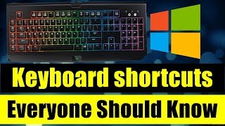 Computer shortcut key - Computer shortcut keys in hindi