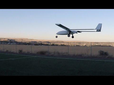 Applied Aeronautics Albatross UAV second test flight