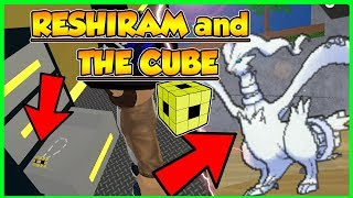RESHIRAM and THE CUBE in POKEMON BRICK BRONZE/ ROBLOX [skit]