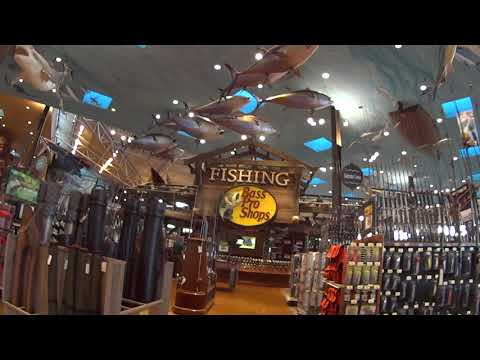 Best Tour of the Huge Biggest Bass Pro Shop in Las Vegas