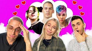 TKO JE MOJA SIMPATIJA? 🥰 *celebrity crush test* | SaamoPetraa, Svenky & Luciano