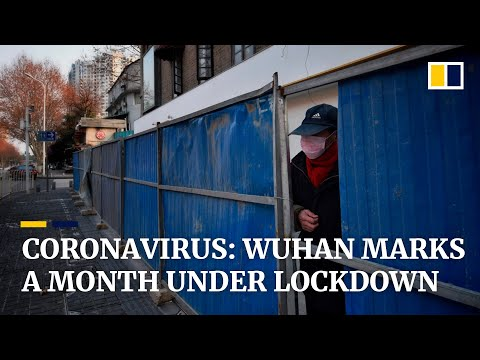 Coronavirus: Wuhan, the city at the epicentre of the epidemic marks a month under lockdown