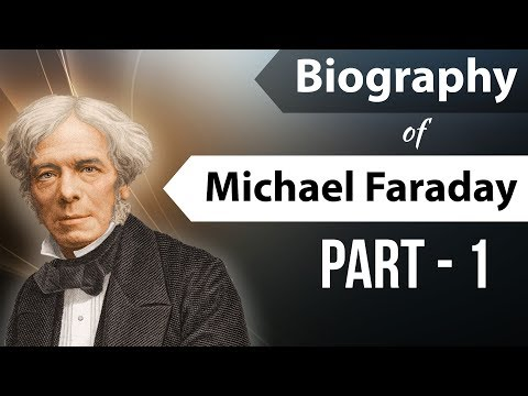 Biography of Michael Faraday Part 1 विद्युत चुंबक के आविष्कारक Founder of  Electromagnetic induction