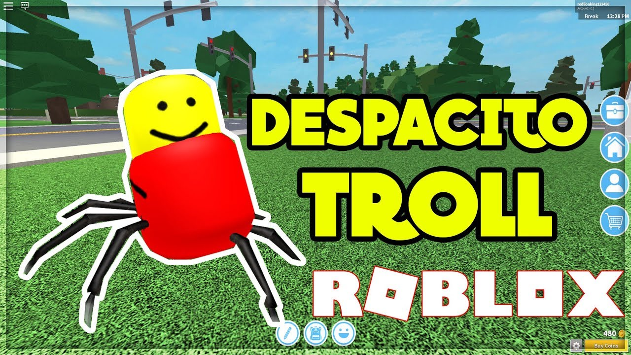 The Despacito Spider Is Now A Hat On Roblox By Isotoxic