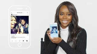 Aja Naomi King Insta-Stalks Viola Davis, Kevin Hart, and the Cast of HTGAWM