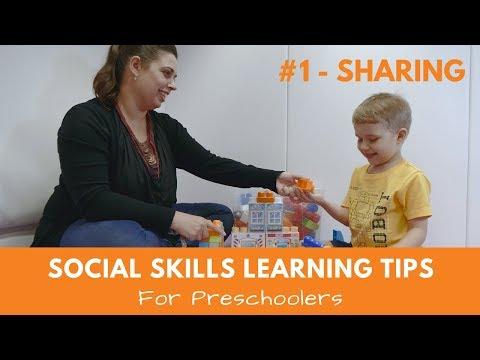 Social Skills Learning Tips For Preschoolers #1 Sharing