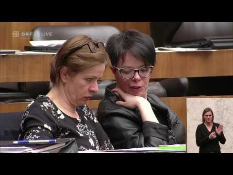 20170301 Nationalratssitzung 2 Alev Korun Grüne 2087426418