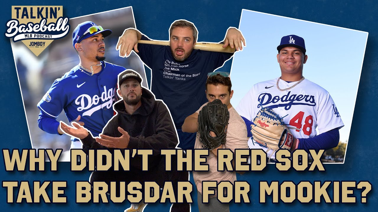 Red Sox aren't upset they didn't get Brusdar Graterol for Mookie Betts