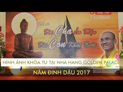 Hình ảnh khóa tu tại nhà hàng Golden Palace Biên Hòa 2017 - Nhóm Mây Lành