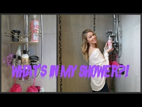 What's In My Shower?!