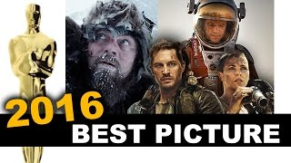 Oscars 2016 Best Picture - The Revenant, Spotlight, The Big Short - Beyond The Trailer