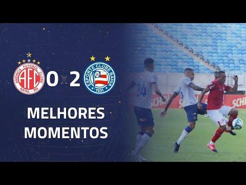 América 0 x 2 Bahia   Gols e Melhores Momentos   7ª rodada   Copa do Nordeste 2020