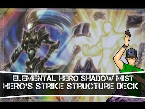 Yugioh HERO's Strike Elemental HERO Shadow Mist & Form Change