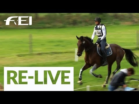 RE-LIVE - Cross Country - FEI World Eventing Championships for Young Horses