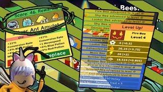 Silber Amulett & FREE Royal Jellies JEDE 5 MINUTEN!! * NICHT CLICKBAIT* (Roblox Bee Swarm Simulator)