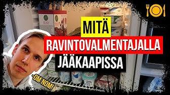 Mitä Ruokaa Tänään - Mitä Ravintovalmentajalla On Jääkaapissa?