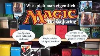 Magic spielen lernen - Basics Grundregeln - Das Magic: The Gathering Tutorial auf deutsch