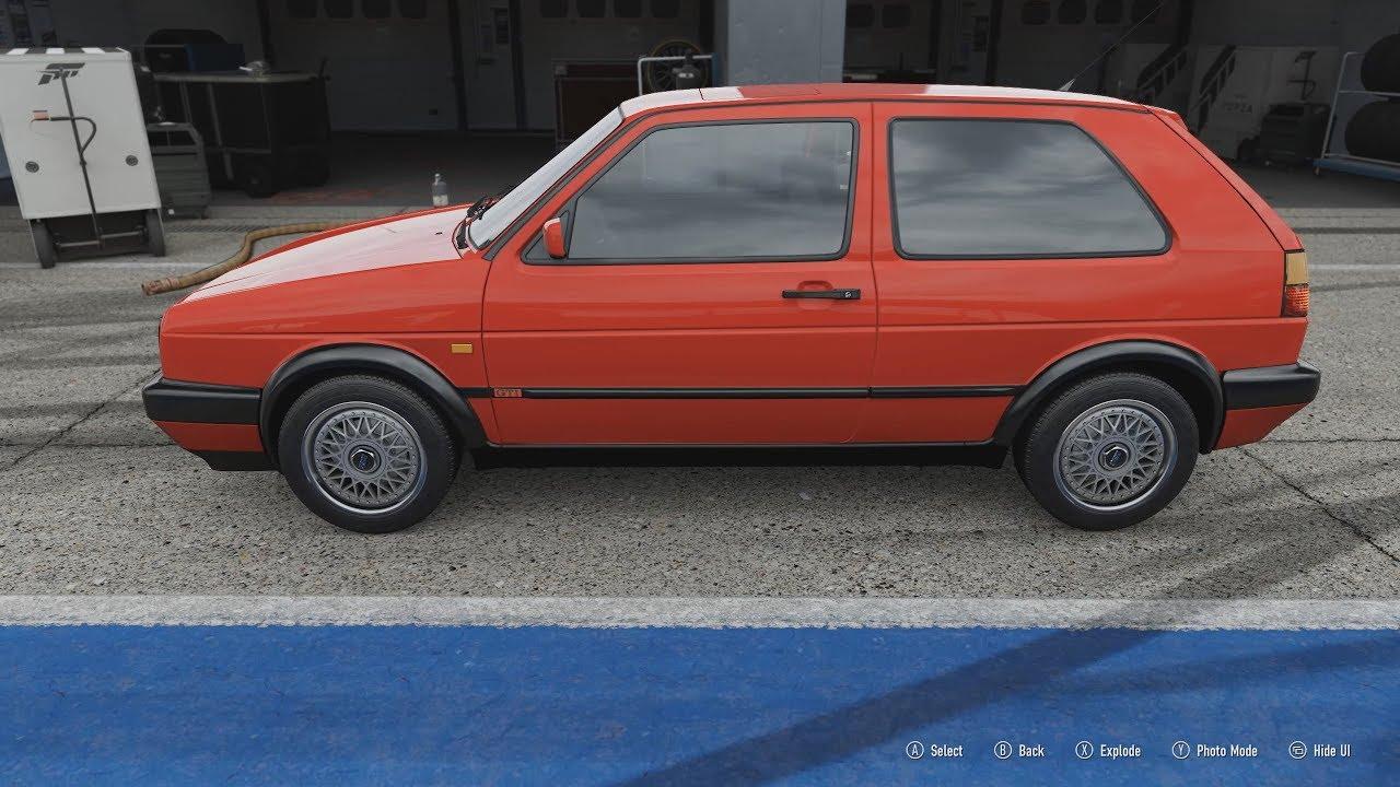 FORZA Motorsport 7 - 1992 Volkswagen Golf Gti 16v Mk2 - Car Show ...