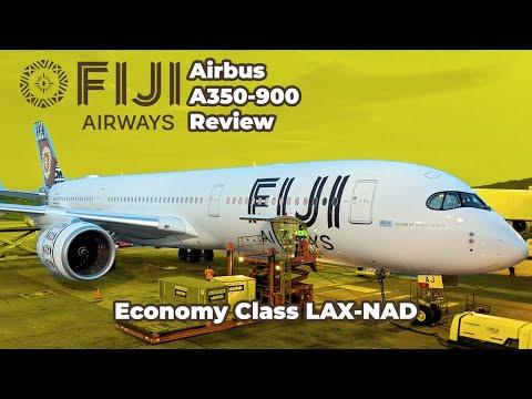 Fiji Airways Economy Review: Airbus A350-900
