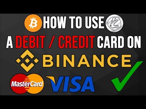 How To Use Debit / Credit Cards On Binance Exchange  | Beginners Guide 2019