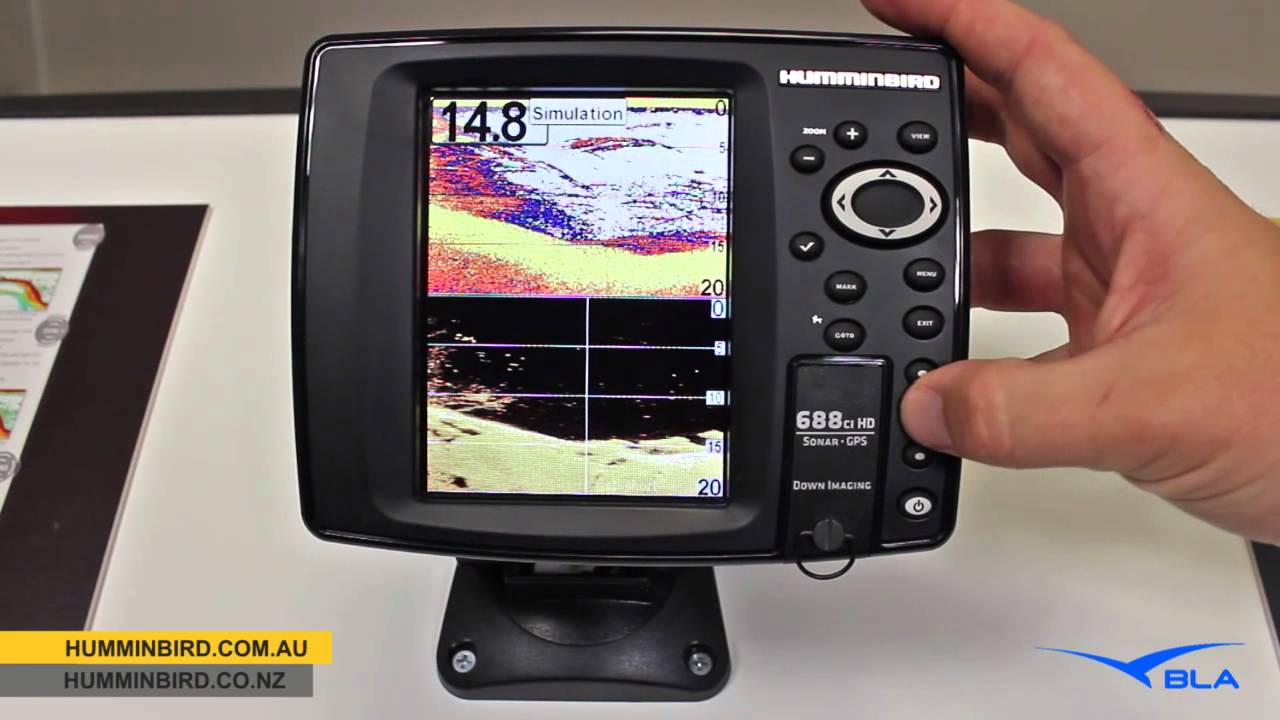 bla - humminbird - 688cxi hd di combo overview - youtube, Fish Finder