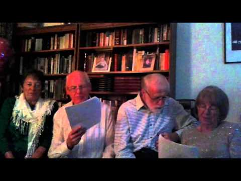 Mary Ellis 70th Party Singsong